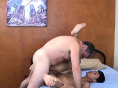 Asian twink rimmed while sucking dick
