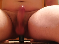 Cumming from anal