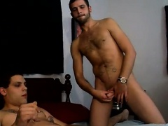 Free gay anal bareback sex videos Drac gargles both his frie