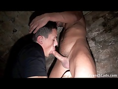 Massive Dildo Cellar Bang