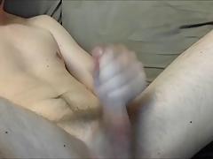 sexy young guy masturbates