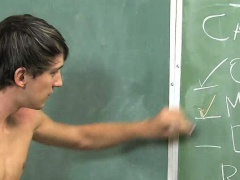 Lesson plan turns into exalting twink sex