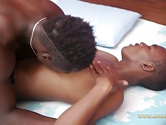 Black twinks on hot foreplay