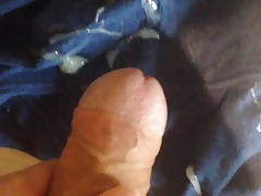 cumming on my cumrag