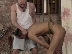 Reece gives horny Kieron a blowjob before getting fucked