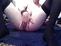 Fun with new dildo