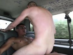 Excited stud is being seduced to have raunchy gay fuck