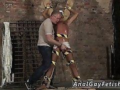 Free gay twink bondage fetish New gimp stud Kenzie had no id