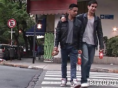 Two boys hook up for gay one-on-one