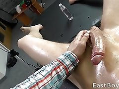 Handjob Casting - Huge Cock