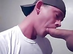 Art and pleasure of savouring a huge cock in mouth