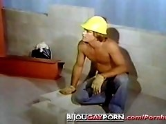 Cute Construction Workers Fuck on the Job - HARDHAT (1977)
