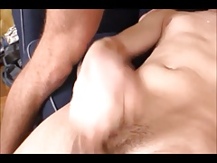 twink fucked by two cocks