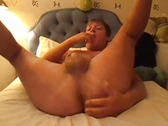 Jake fingers and cums