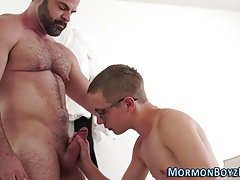 Twink mormon raw dawged