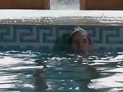 caught giving his swim buddy a hand job in the pool