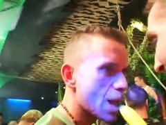 Filipino party movies gay porn Dozens of men go bananas for