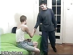 Two sexy twinks playing strip poker end up banging