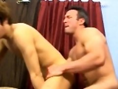 Young gays fucking each other in the face They start to make