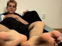 Teen bulge feet gay Honza And His Size 11 Feet