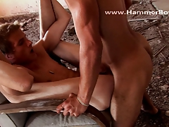 Gypsy Princ and Milosh Tas hard fuck from Hammerboys TV