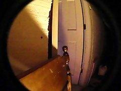 10.08 mm fisheye lens - BED POST & big boy dildo