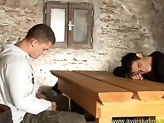 Colin Reeves and Jerome Raynolds fucking in a cellar