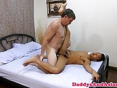 Cocksucking daddy analfucking pinoy twink