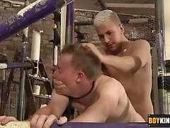 Cute twink Olly getting butt fucked hard