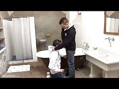 Bareback Boys Bathroom Rimming