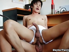 Horny patient rammed on different position