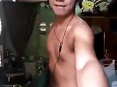 hairy pinoy boy cums standing (44'')