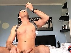 Wank and eat