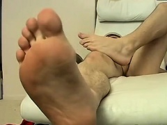 Black gay cant take dick Licking The Goo From His Own Foot