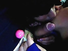 2 Fags 1 Thick Cock & a Lollipop