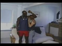 Sissy Twink enjoys Black Bull's Pounding