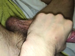 Oiled wank up