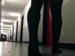 Young sissy crossdresser exposed in her residence