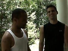 Gay fuck Hell-raising Bukkake with Diablo!