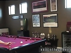 Boys gang gay porn I found the fellows playing some pool jus