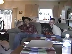 cute twink invites his friend over to fuck