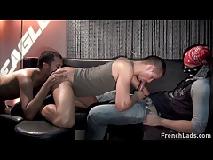 Evan Rivers Fucked in the Club