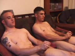 Ethan and Aaron Jerk Off Together