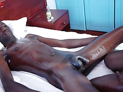 Black African Twinks Gives Oral and Anal Fucking