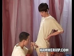 Bareback Twinks Enrico Cruz and Jack Reed Pajama Party