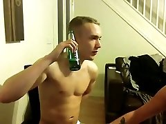 Straight twink sucked by Friend and smoke