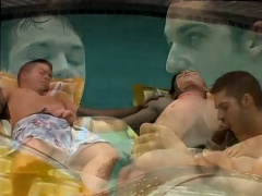Boy underwear gay sex tube Kaleb's Pissy Pool Party