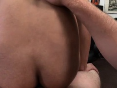 Large dicks straight men licking pussy gay He wasn't too gla