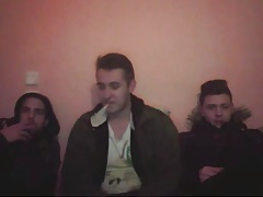 3 Greek Gorgeous Boys Shows Their Hot Asses 1st Time On Cam