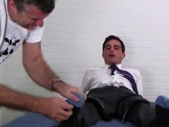 Fat foreskin gay sex Professor Link Tickled For Better Grade